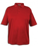 Men's Polo With Moisture Wicking